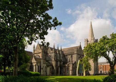 the saint patrick cathedral, dublin photo