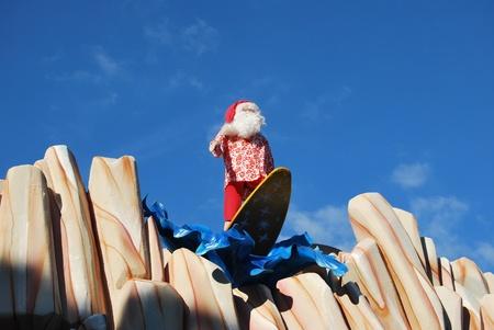 the Christmas village in Monaco Stock Photo - 17442311