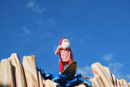 the Christmas village in Monaco Stock Photo - 17442156