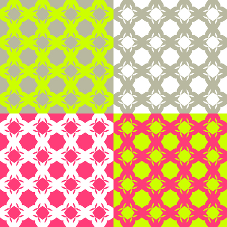 minimalism: Seamless checkered pattern in minimalism style. Bright color