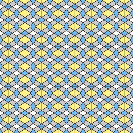 fine print: Fine seamless pattern in geometric style. Color print