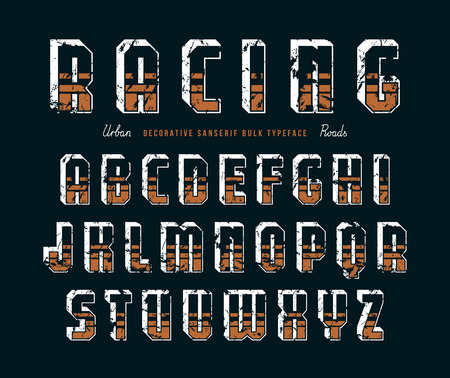 Decorative Sanserif Bulk Font In Racing Style Graphic Design Royalty Free Cliparts Vectors And Stock Illustration Image 77108000,Fashion Designer In Spanish