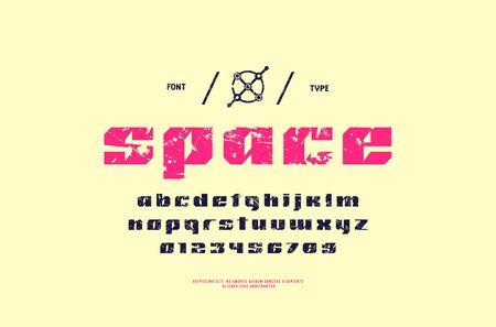 Stock Vector Sans Serif Font, Alphabet, Typeface  Lowercase