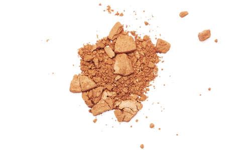 face powder: Makeup blush