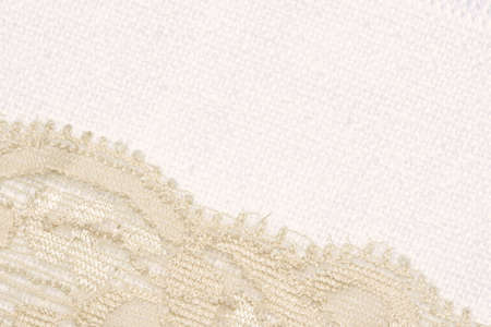 Lace and canvas background photo