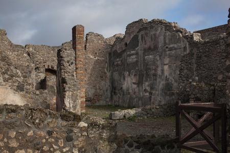 ruins: Pompeii ruins