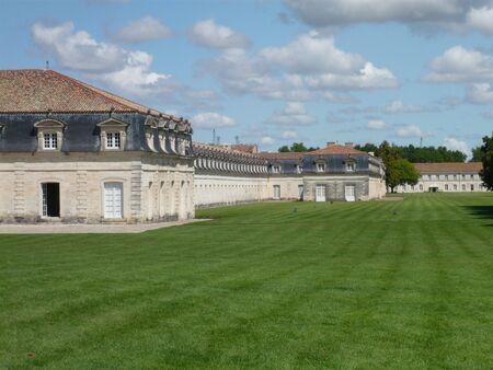 royale: El buen viejo buiding de la Corderie Royale en Rochefot en Francia