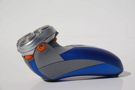 electric portable shaver or razor for mens care photo