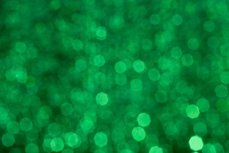 lensflare: green bokeh background