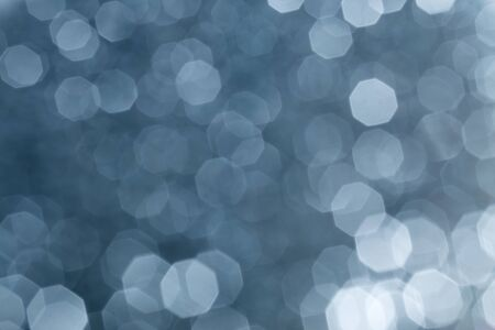 blue grey: silver bokeh background