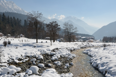 kashmir: Pahalgam in Kashmir has been referred to as the Switzerland of India