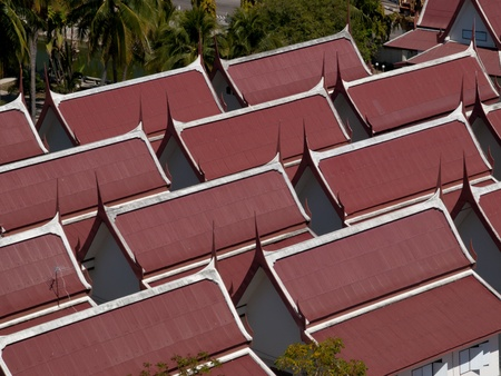 Thai-style roof  photo