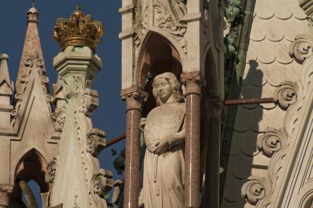Brunswick Monument and Mausoleum in Geneva, Switzerland, summer 2012 photo