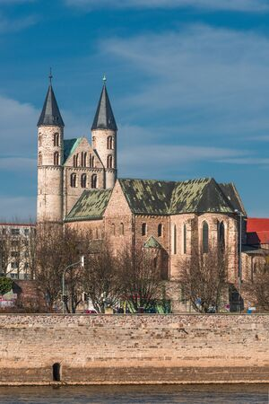 Kloster Unser Lieben Frauen, monastery of our Lady in Magdeburg, Germany, 2014 photo