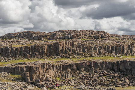 icelandic: Icelandic natural volcanic landscape, summer, 2015