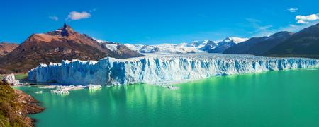 calafate: Panorama of glacier Perito Moreno in Patagonia, South America