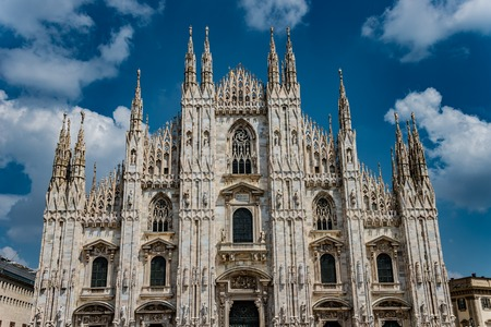 View of magnificent Cathedral of Milano, Milan, Italy Banque d'images - 119170252
