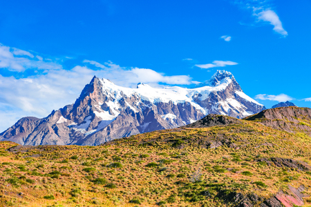 Panoramic view of Torres del Paine, National Park, Patagonia, Chile Banque d'images - 119148968