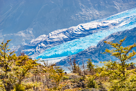 Panoramic view of Torres del Paine, National Park, Patagonia, Chile Banque d'images - 119148970