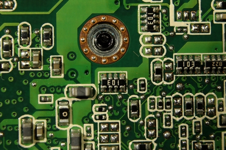 Circuit board of a computer