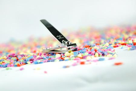 clippings: Recortes de u�as del dedo