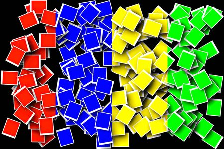 photoshop: Colorful Square blank background-background created by the program photoshop.