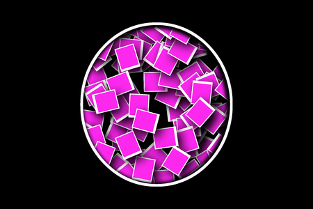 programs: Pink background made up of programs ACDSEE Stock Photo