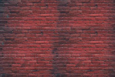 Die Oberfläche des Ziegels von der Hintergrundwand.