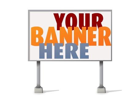 Billboard Stock Vector - 12397997