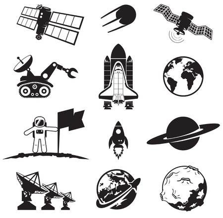 Space collection Stock Vector - 14965676