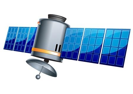 Earth satellite 일러스트