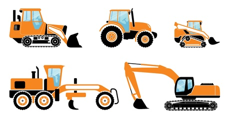 quarry: Heavy machines Illustration