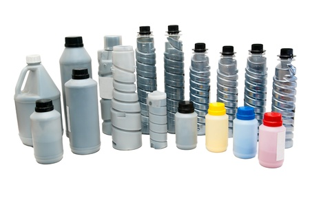 Powder toners for printers, scanners Stock Photo - 17469063
