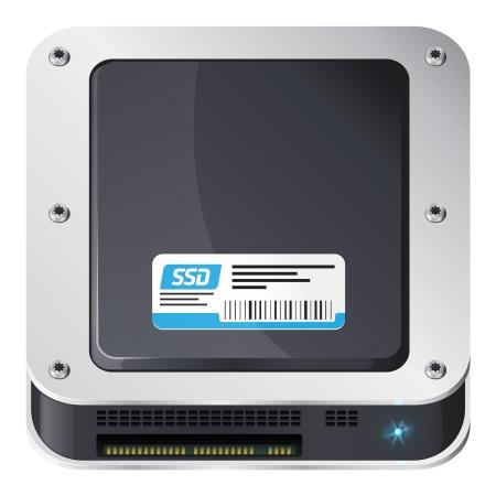 disco duro: Unidad de estado s?lido, iOS icono de estilo