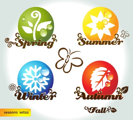 Seasons_ Vector