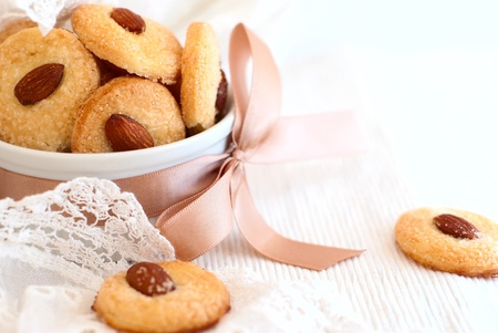 almond cookie photo