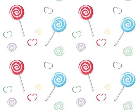 lolli: Lollipop seamless pattern