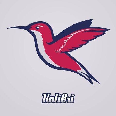 Hummingbird. Vecteur d'être utilisé comme une mascotte