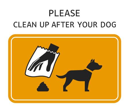 Szablon podpisu - proszę posprzątać po swoim psie