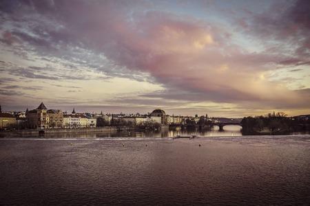 City Prague in Czech Republic Reklamní fotografie