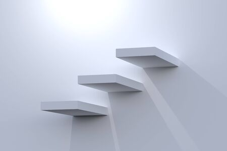 career development: Steps Stock Photo