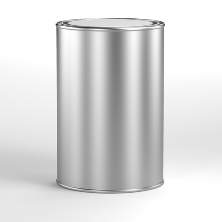 aluminum: aluminum can for paint