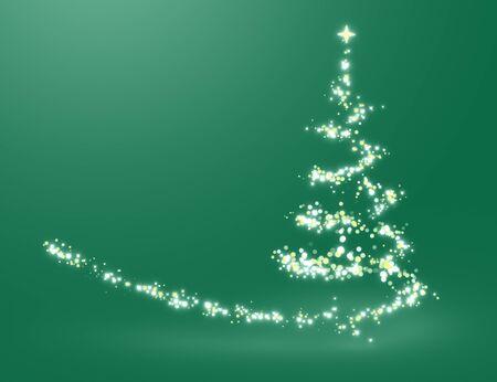 Christmas tree lighting Stock Photo