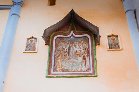 Tikhvin Assumption Monastery Fall 2018, a Russian Orthodox, Tihvin, Saint Petersburg region, Russia