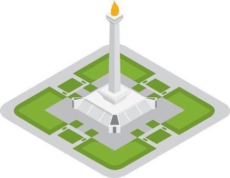jakarta: monument national icon of jakarta
