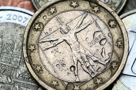 italy euro coin