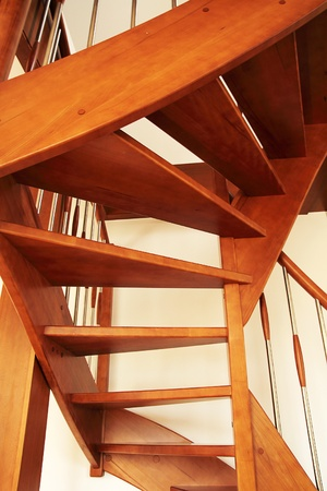 interior stairs wooden photo