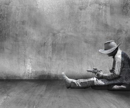 locked in: cowboy in jail