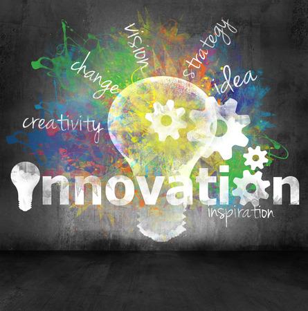 innovativ: Innovation Konzept Lizenzfreie Bilder