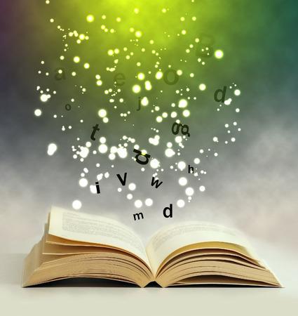 Libro mágico Foto de archivo - 26884177